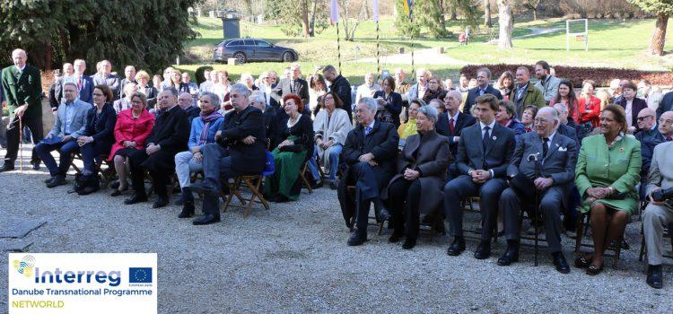 Eröffnung der neuen Ausstellung im Rahmen des EU-Projektes NETWORLD in Schloss Artstetten