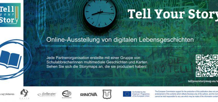 Online-Präsentation digitaler Lebensgeschichten