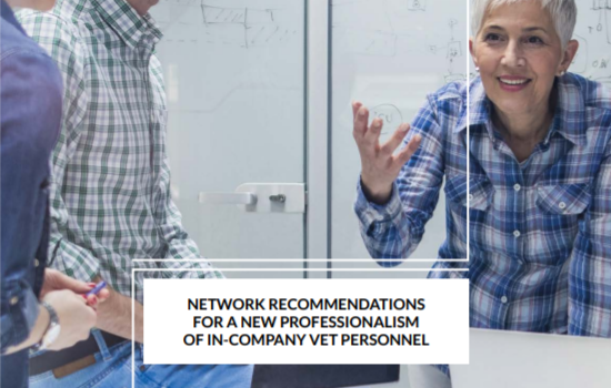 Network recommendations for a new professionalism of in-company vet personnel