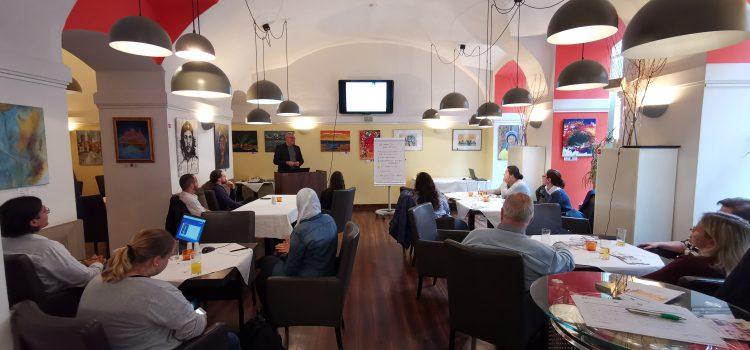 Das war das After Work EU-Café: Tools für IntegrationstrainerInnen