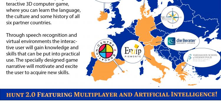 ERASMUS+ Projekt Hunt for Europe
